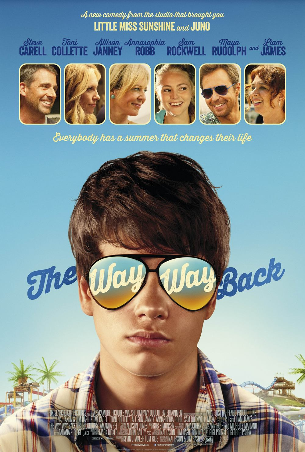 The Way, Way Back Filmposter