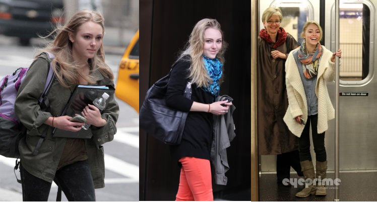 AnnaSophia Robb in New York City gesichtet